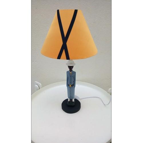 Lampe statuette