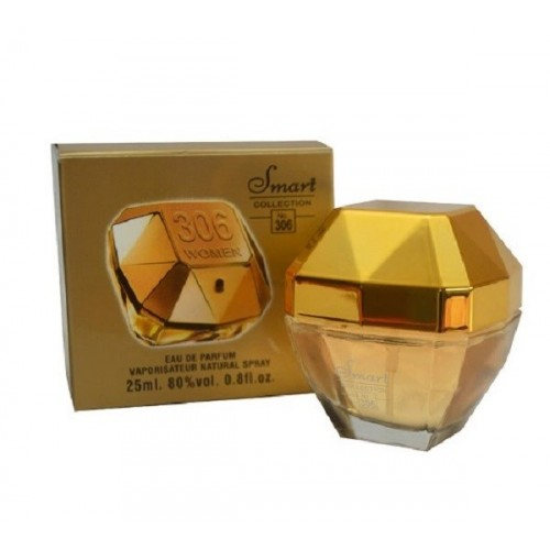 Smart Collection Eau De Parfum N°306 One Million pour femme  25ml