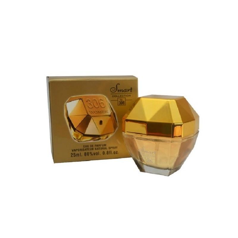 Smart Collection Eau De Parfum N°306 One Million pour femme  25ml