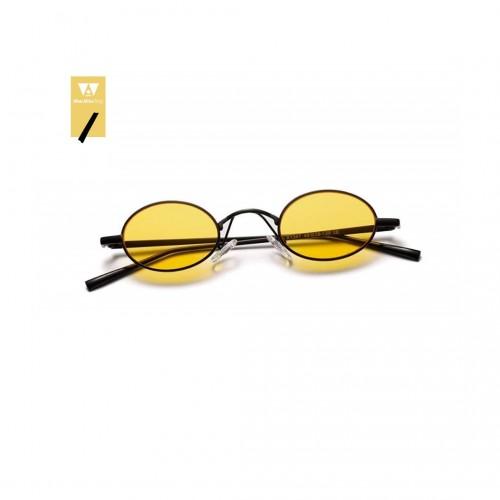 Lunettes de soleil vintage mini (jaune)