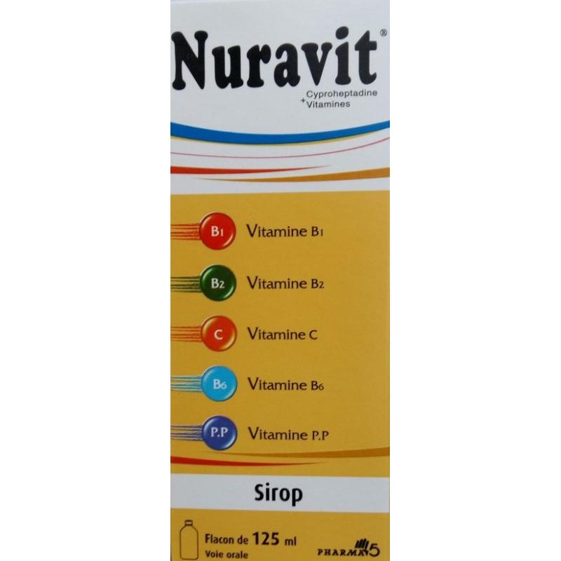 Nuravit Vitamine pour Grossir