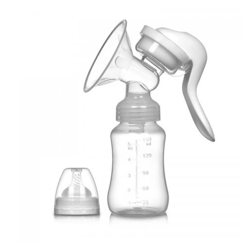 Tire Lait Manuel, Réglable avec Couvercle pour l'allaitement de 150ml Lait Bouteille Confortable et Pratique Extraction Rapide