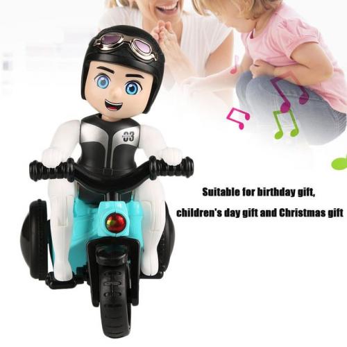tricycle de cascade  avec 'effets de lumière de musique
