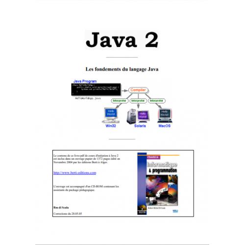 Les Fondements du langage Java