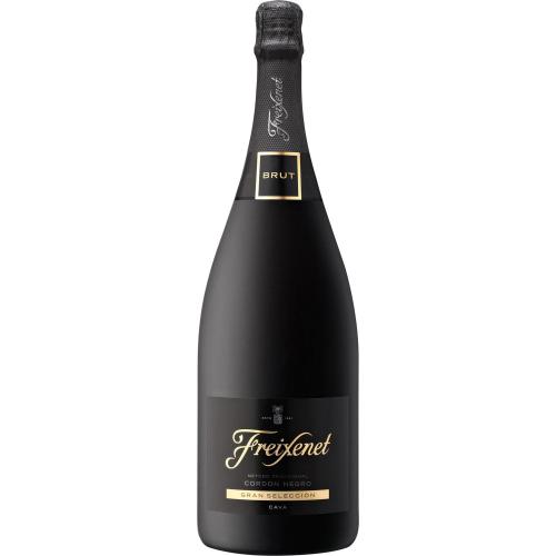 Lot De 6 Bouteilles De Champagnes Freixenet - Noir/Or/Jaune