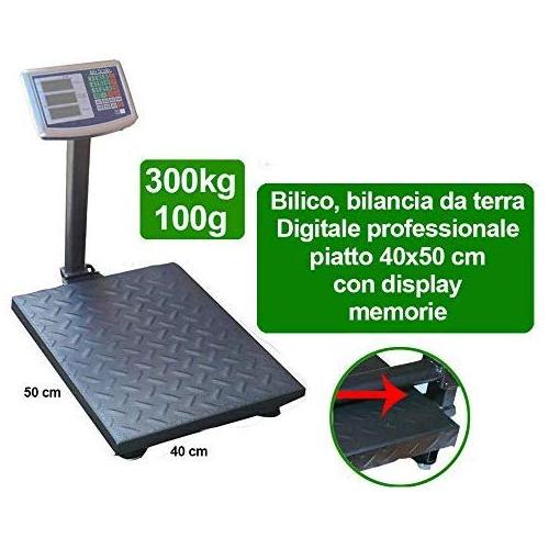 Balance bascule numérique électronique 300 kg avec écran LCD