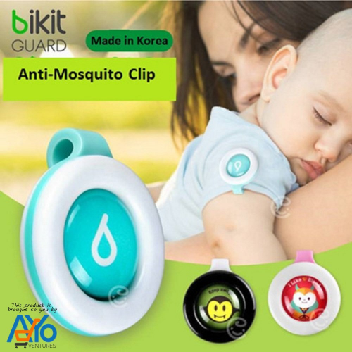 anti-moustiques pour bébé de Bikit Guard pour une protection extérieure et intérieure (multicolore)