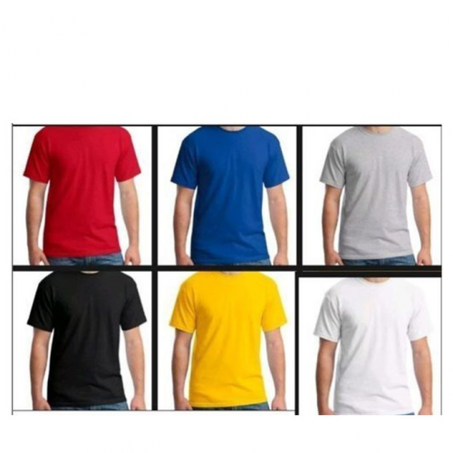Lot De 6 Tee-shirts - Multicolore