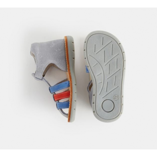 Sandales En Cuir Multicouleur