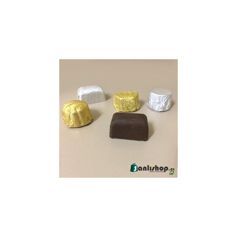 Petite pièce de chocolat - mixte