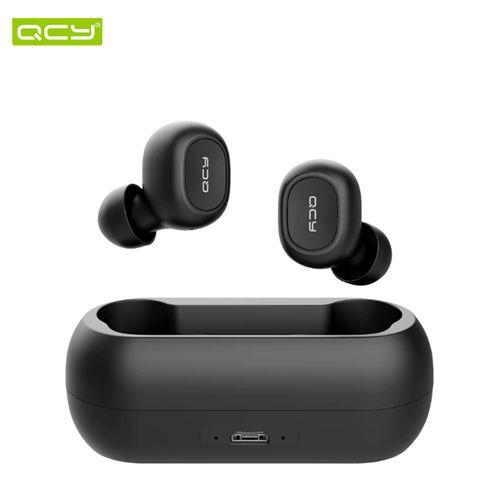 T1 -Dual Écouteur Bluetooth V5.0-Résiste à L'eau- Noirb