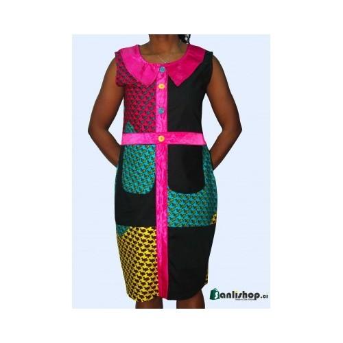 Robe Tissu Pagne