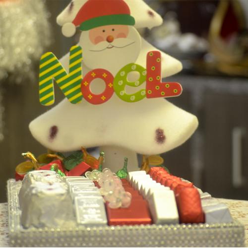 Le sapin blanc de Noël