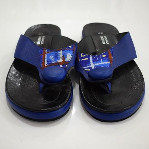 Sandale Bleu turquoise