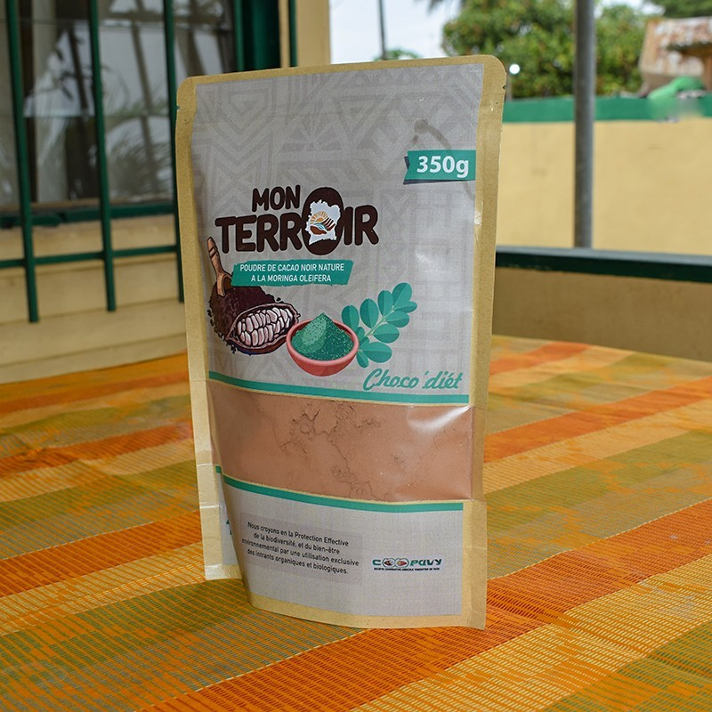 Poudre de cacao - Moringa 350g