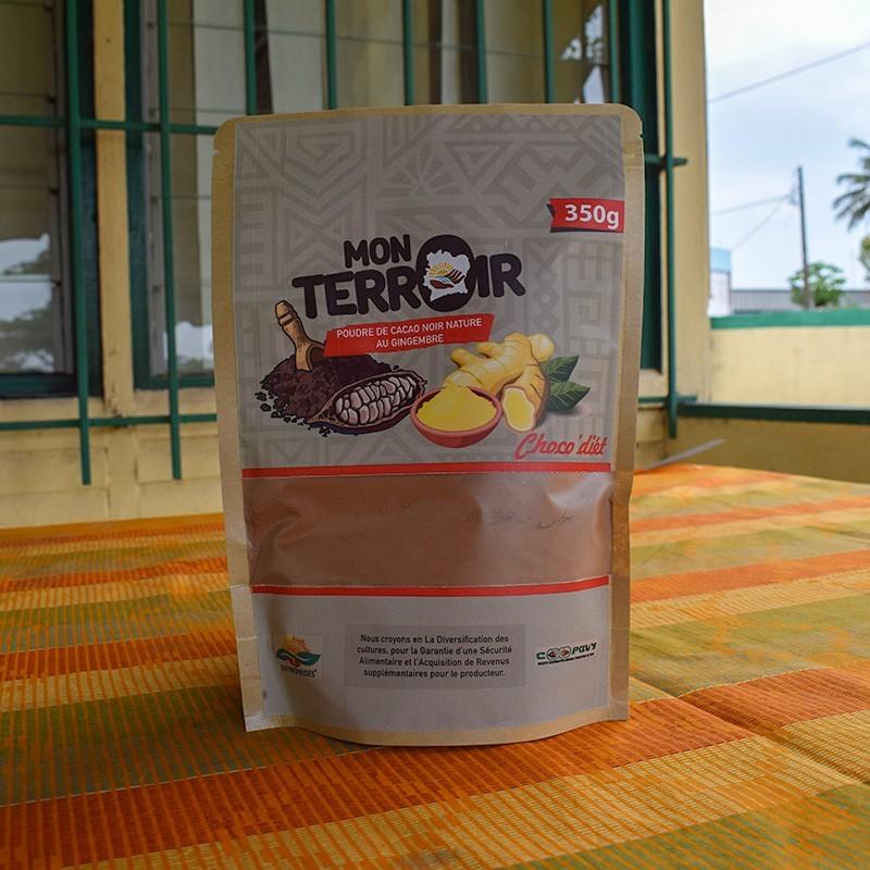 Poudre de cacao - Gingembre 350 g