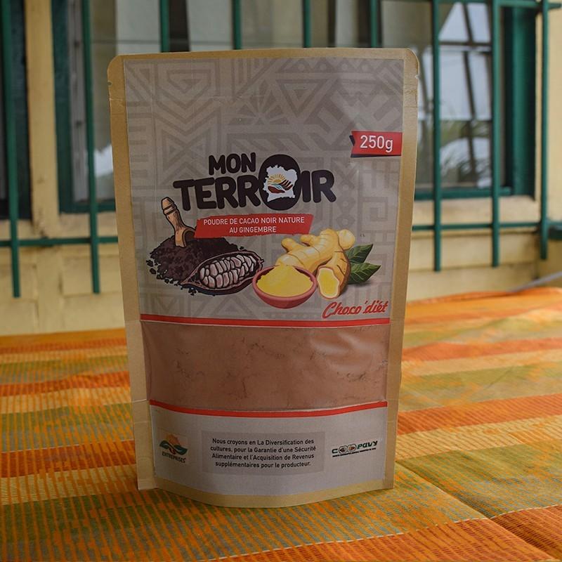 Poudre de cacao - Gingembre 250 g