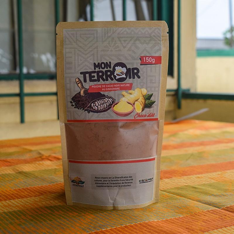 Poudre de cacao - Gingembre 150 g