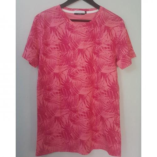 T-shirt à motif - rose