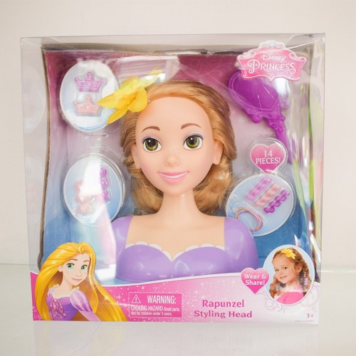 Tête coiffante - Rapunzel