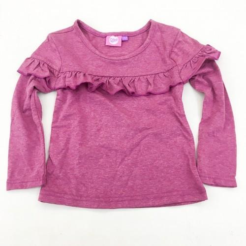 T-Shirt Rose  à Manches Longues