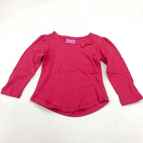 T-Shirt Rouge Manches Longues