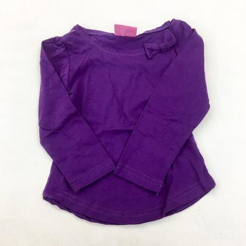 T-Shirt Violet Manche Longue