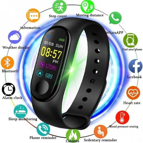montre  connectee(smart bracelet)