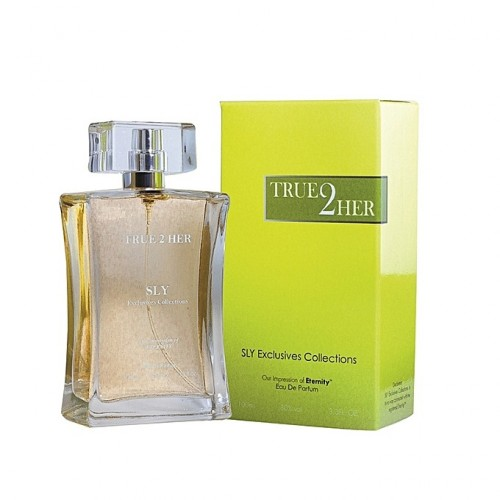 Sly Eau De Parfum True 2 Her - 100 ML - Jaune