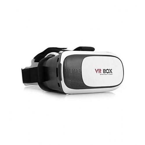 Lunettes 3D De Réalité Virtuelle De Version De BOÎTE De VR Pour Les Téléphones Intelligents De Largeur De 6 - De 8.2cm - Blan