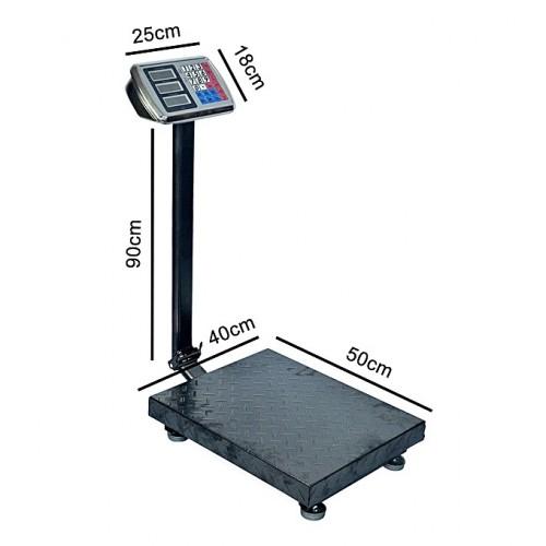 Balance Electronique Commerciale électronique 0.05-150kg - Noir