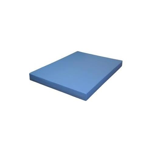 matelas mousse bleu 3 places ph6   plus 1 paire d oreiller blanche  house offerte