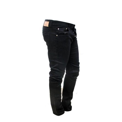 pantalon jean fashion taille  noir 31/32 plus un tee-short blanc offert