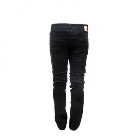 pantalon jean fashion taille  noir 31/32 plus un tee-short blanc offert