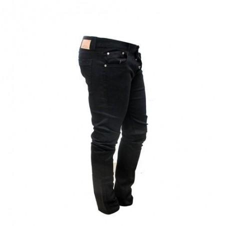 pantalon jean fashion taille  noir  35/36 plus un tee-short blanc offert