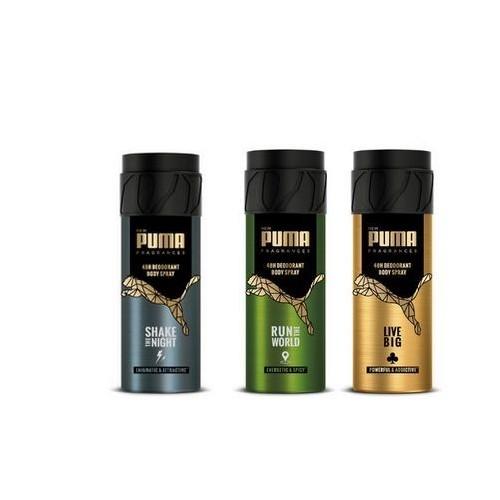 lot de trois parfum déodorant Puma 48 h 150 ml