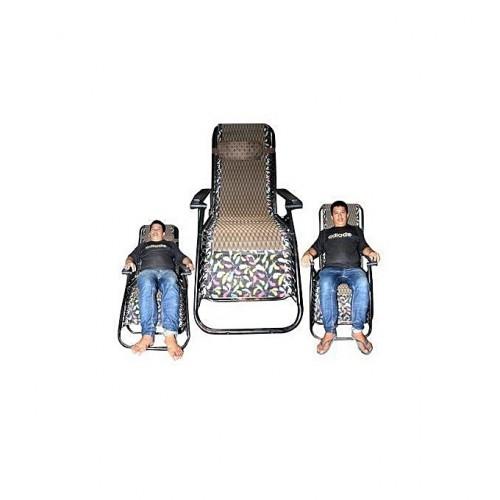 Chaise De Confort Pliante - Multicolore